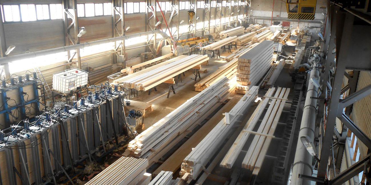 کارخانه ون چوب